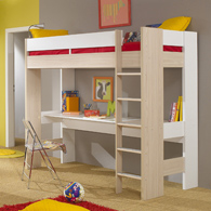 lit mezzanine bureau titouan acheter ce produit au meilleur prix. Black Bedroom Furniture Sets. Home Design Ideas