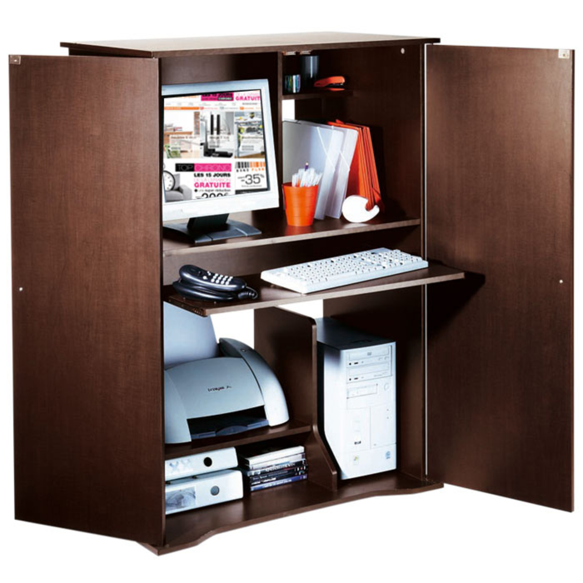 Armoire de bureau en anglais for Meuble anglais traduction