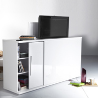 buffet cache tv lectrique acheter ce produit au meilleur prix. Black Bedroom Furniture Sets. Home Design Ideas