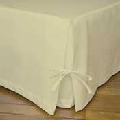 cache sommier percale de coton 80 fils cm les unis couleur lin taille 160x200cm acheter. Black Bedroom Furniture Sets. Home Design Ideas