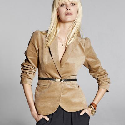 veste velours femme du 34 au 48 acheter ce produit au meilleur prix. Black Bedroom Furniture Sets. Home Design Ideas