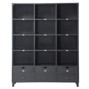 biblioth que edison acheter ce produit au meilleur prix. Black Bedroom Furniture Sets. Home Design Ideas