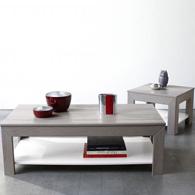 Table Basse Carrée / Bout De Canapé Carré Holme En Pin Certifié Fsc