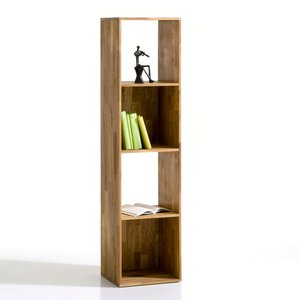 biblioth que 4 niches ch ne massif acheter ce produit au meilleur prix. Black Bedroom Furniture Sets. Home Design Ideas