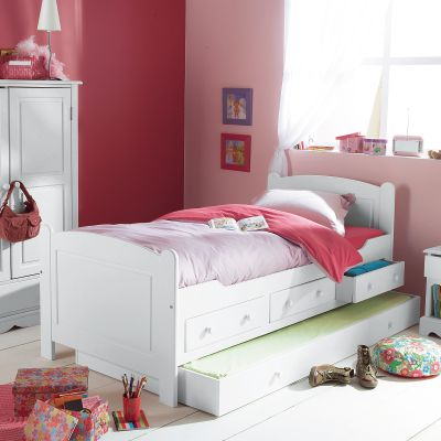 lit enfant 3 tiroirs 1 tiroir lit aventure en pin massif 3 finitions au choix acheter ce. Black Bedroom Furniture Sets. Home Design Ideas