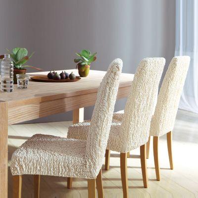 housse gaufr e extensible pour tous types de chaises acheter ce produit au meilleur prix. Black Bedroom Furniture Sets. Home Design Ideas