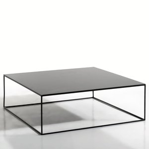 Table basse m tal carr e romy acheter ce produit au for Table basse carree metal