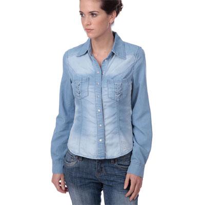 Chemise en jean femme morgan du 36 au 42