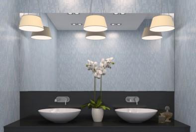 Bien choisir son plafonnier de salle de bain confidentielles for Plafonnier de salle de bain