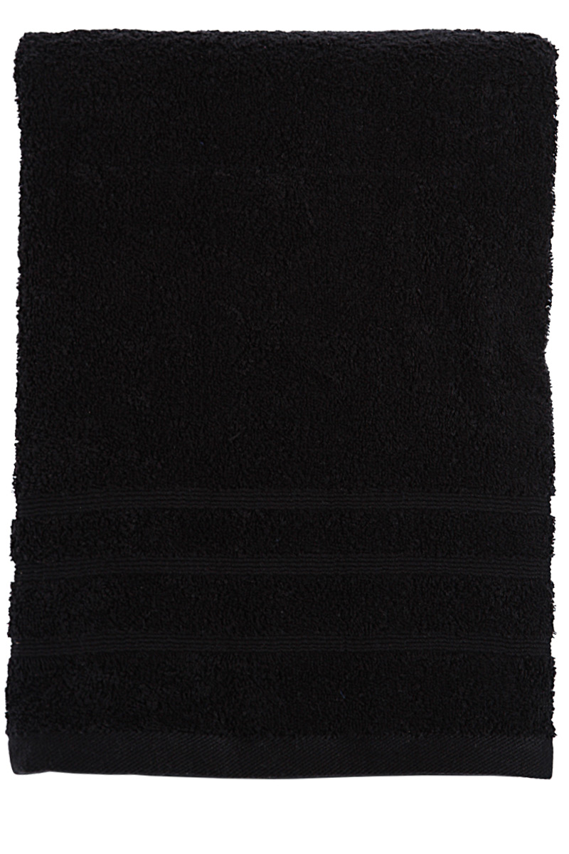 drap de bain noir 90 x 150 cm acheter ce produit au meilleur prix. Black Bedroom Furniture Sets. Home Design Ideas