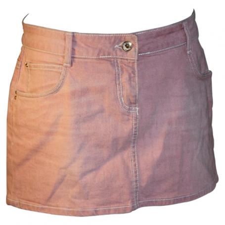 jupe en jean rose pale acheter ce produit au meilleur prix. Black Bedroom Furniture Sets. Home Design Ideas