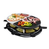 raclette grill pierre griller pour 8 personnes unic line acheter ce produit au meilleur. Black Bedroom Furniture Sets. Home Design Ideas