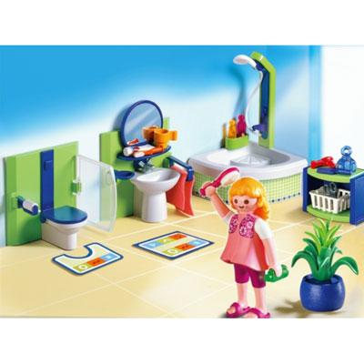 Salle de bains playmobil 4285 acheter ce produit au for Salle de bain villa moderne playmobil