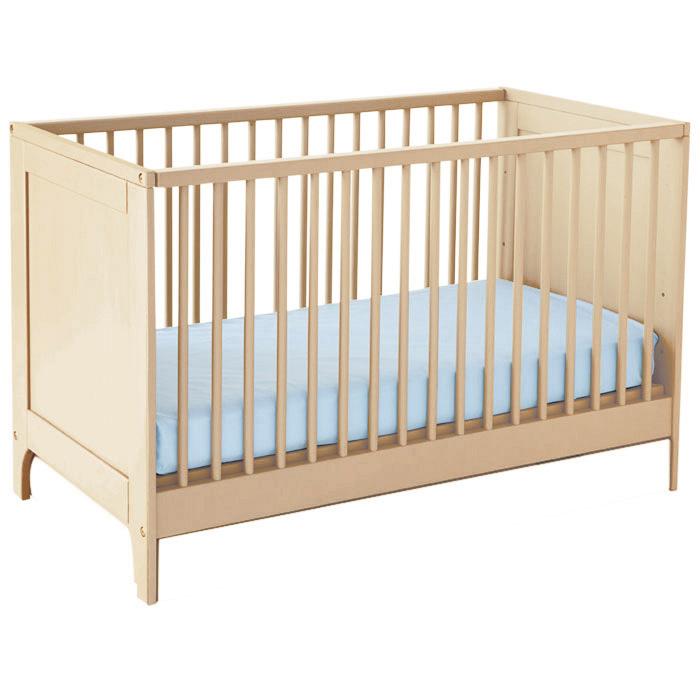 lit b b avec sommier brut frais de traitement de. Black Bedroom Furniture Sets. Home Design Ideas