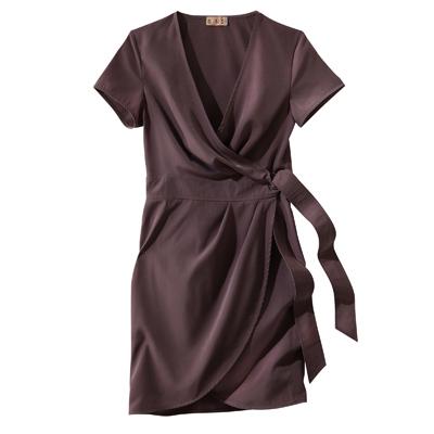 robe courte portefeuille femme du 38 au 58 acheter ce produit au meilleur prix. Black Bedroom Furniture Sets. Home Design Ideas
