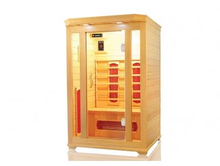 sauna infrarouge 2 places gamme prestige oslo ii acheter ce produit au meilleur prix. Black Bedroom Furniture Sets. Home Design Ideas