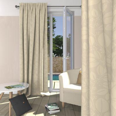 rideau occultant galon fronceur acheter ce produit au. Black Bedroom Furniture Sets. Home Design Ideas
