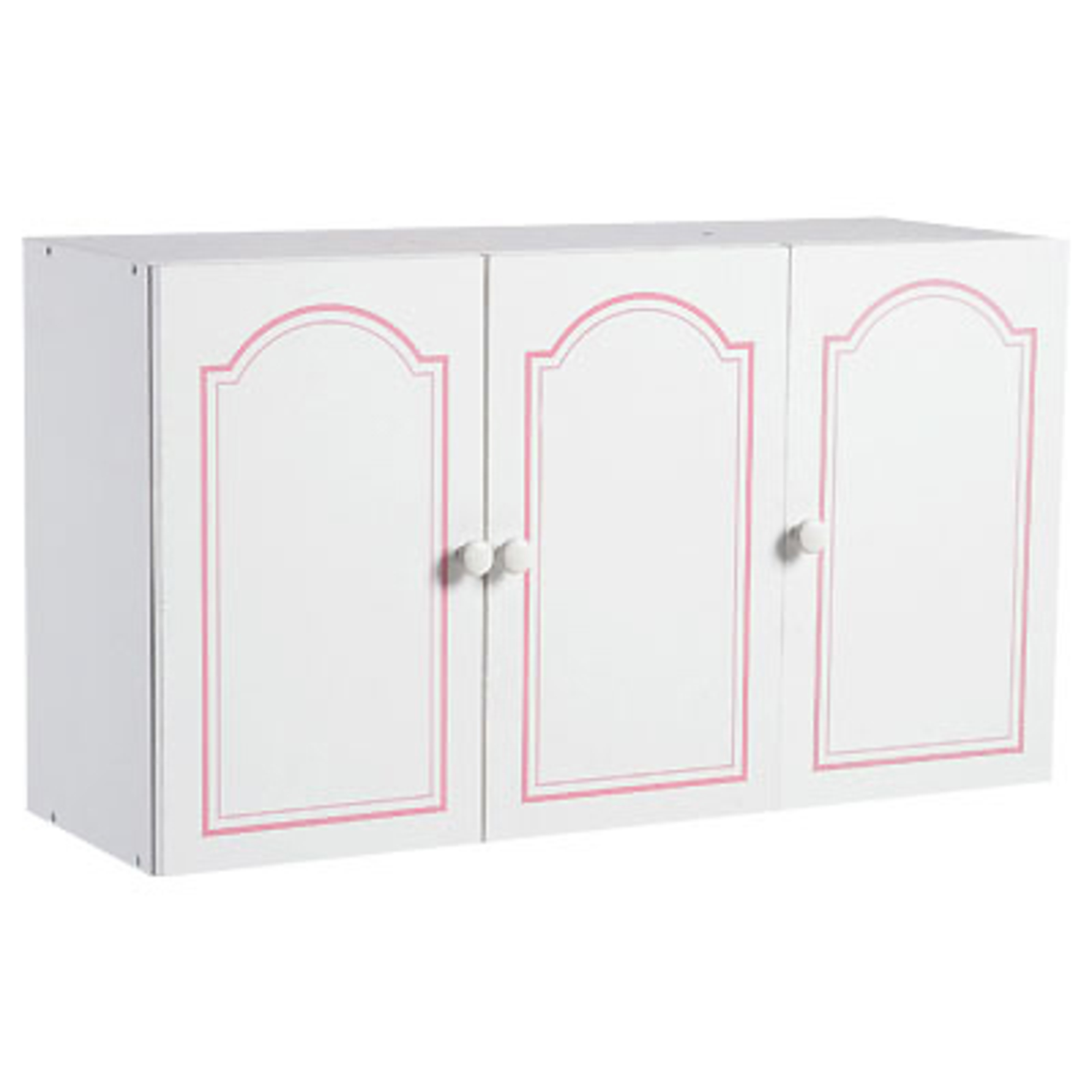 meuble haut 3 portes salle de bain belle ile blanc filet rose anniversaire 40 ans acheter. Black Bedroom Furniture Sets. Home Design Ideas