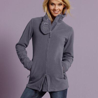 veste polaire zipp e manches longues femme flashlingts du. Black Bedroom Furniture Sets. Home Design Ideas