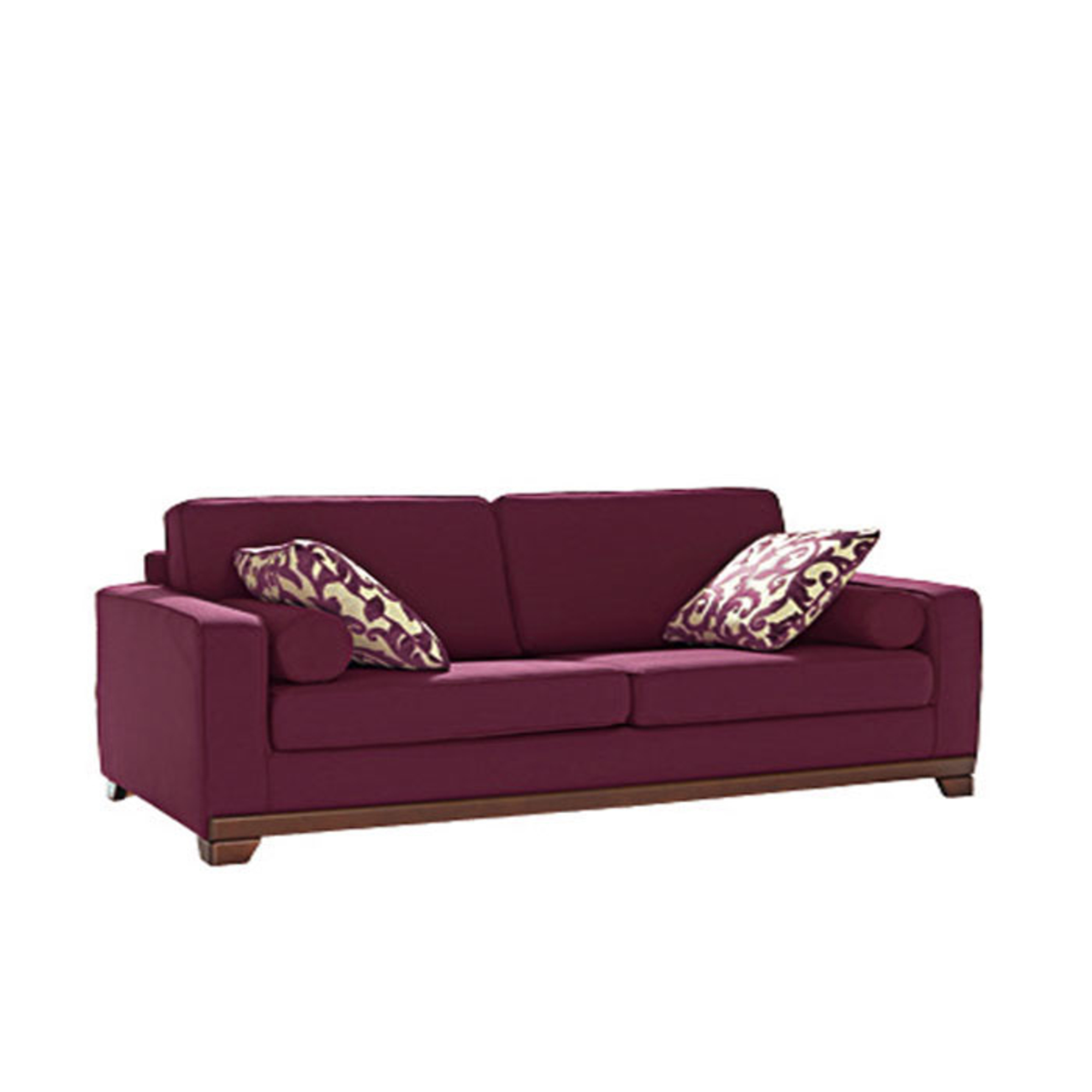 Canap d 39 angle couleur aubergine for Canape d angle sophia