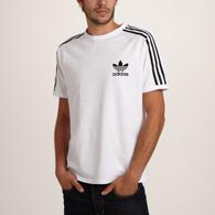 tee shirt adidas blanc homme
