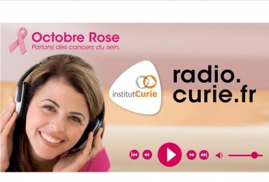 Radio Curie : la web radio pour parler du cancer du sein