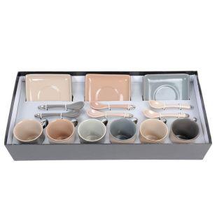 coffret 6 tasses caf nomade acheter ce produit au meilleur prix. Black Bedroom Furniture Sets. Home Design Ideas