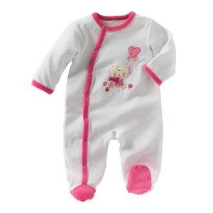 845722cb20d40 pyjama velours fille 1 mois - BRRT - Pyjamas pour tous.
