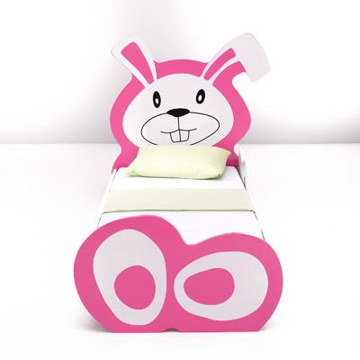lit jeune enfant lapin couchage 70 x 160 cm acheter ce produit au meilleur prix. Black Bedroom Furniture Sets. Home Design Ideas