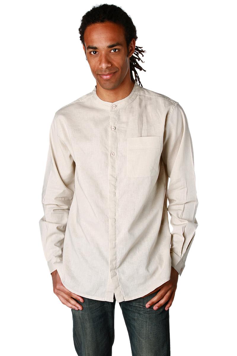 chemise col mao manches longues homme acheter ce produit au meilleur prix. Black Bedroom Furniture Sets. Home Design Ideas
