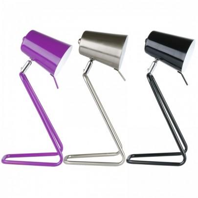 lampe de bureau busy h 45cm violet acheter ce produit au meilleur prix. Black Bedroom Furniture Sets. Home Design Ideas