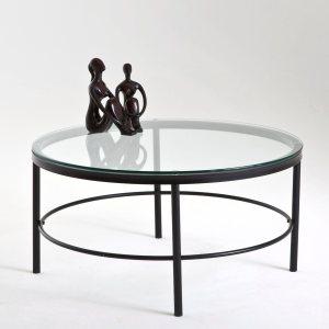 Table basse verre et m tal acheter ce produit au meilleur prix - Table basse verre et metal ...