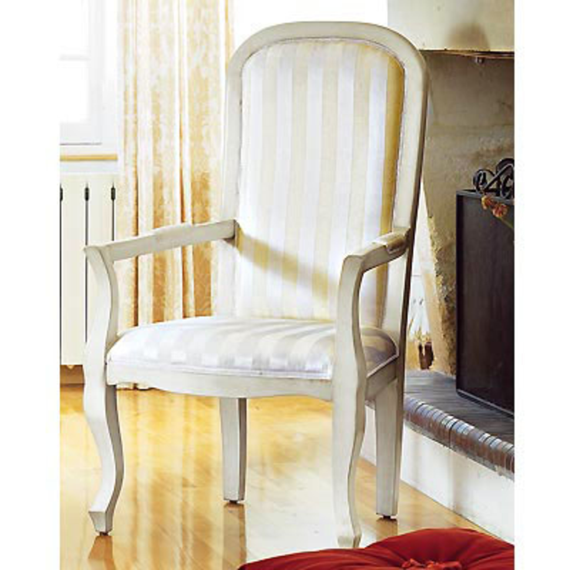 Fauteuil voltaire arcadie blanc ray anniversaire 40 ans acheter ce pro - Fauteuil voltaire blanc ...