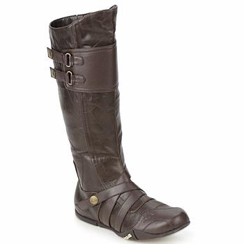 KAPPA Bottines Marvin Chaussures Homme Noir et marron