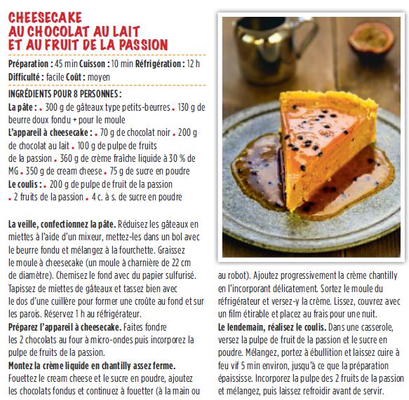 Exclu les meilleures recettes du magazine de cuisine 750 for 750grammes com fiche de cuisine