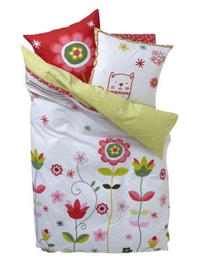 housse de couette fille floreale vertbaudet acheter ce produit au meilleur prix. Black Bedroom Furniture Sets. Home Design Ideas