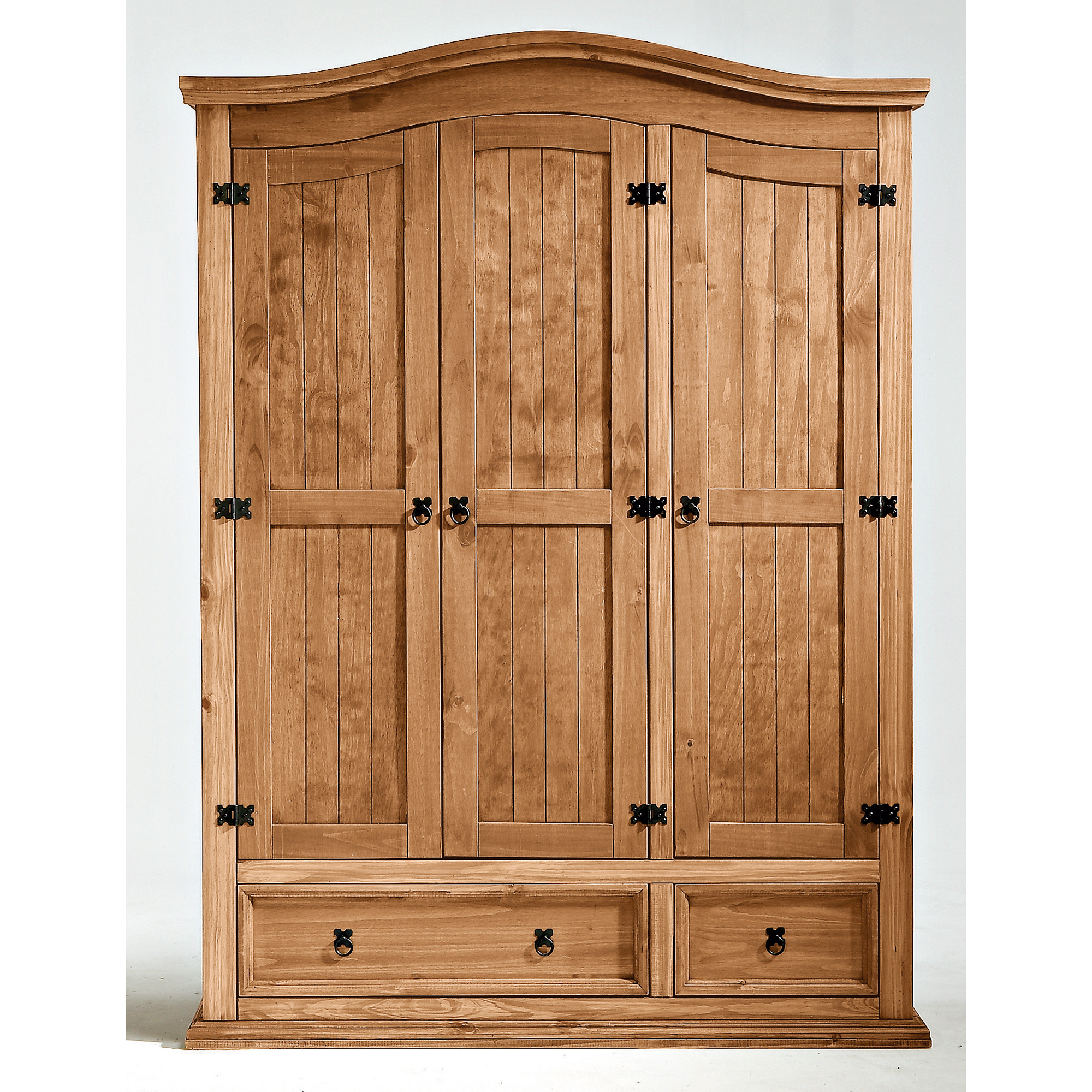 armoire 3 portes 2 3 penderie 1 3 ling re el patio anniversaire 40 ans acheter ce produit au. Black Bedroom Furniture Sets. Home Design Ideas