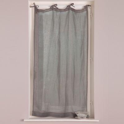 voilage nouettes en tamine de lin acheter ce produit au meilleur prix. Black Bedroom Furniture Sets. Home Design Ideas