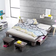 matelas tapissier capitonn passepoil pur coton pour banquette acheter ce produit au meilleur. Black Bedroom Furniture Sets. Home Design Ideas