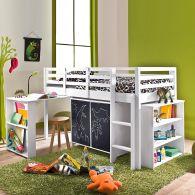 Lit sur lev pour chambre enfant en pin massif d s 6 ans acheter ce produit - Lit enfant 3 suisses ...