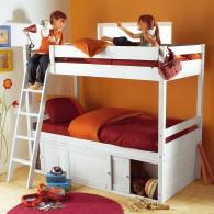 lits superpos s prix fou avec rangements acheter ce. Black Bedroom Furniture Sets. Home Design Ideas