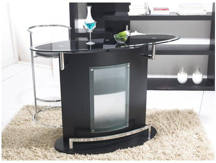 meuble de bar santi acheter ce produit au meilleur prix. Black Bedroom Furniture Sets. Home Design Ideas