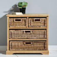 fiche boutique commode  tiroirs en pin massif et kubu kil