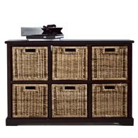 fiche boutique commode large  tiroirs en pin massif et kubu kil