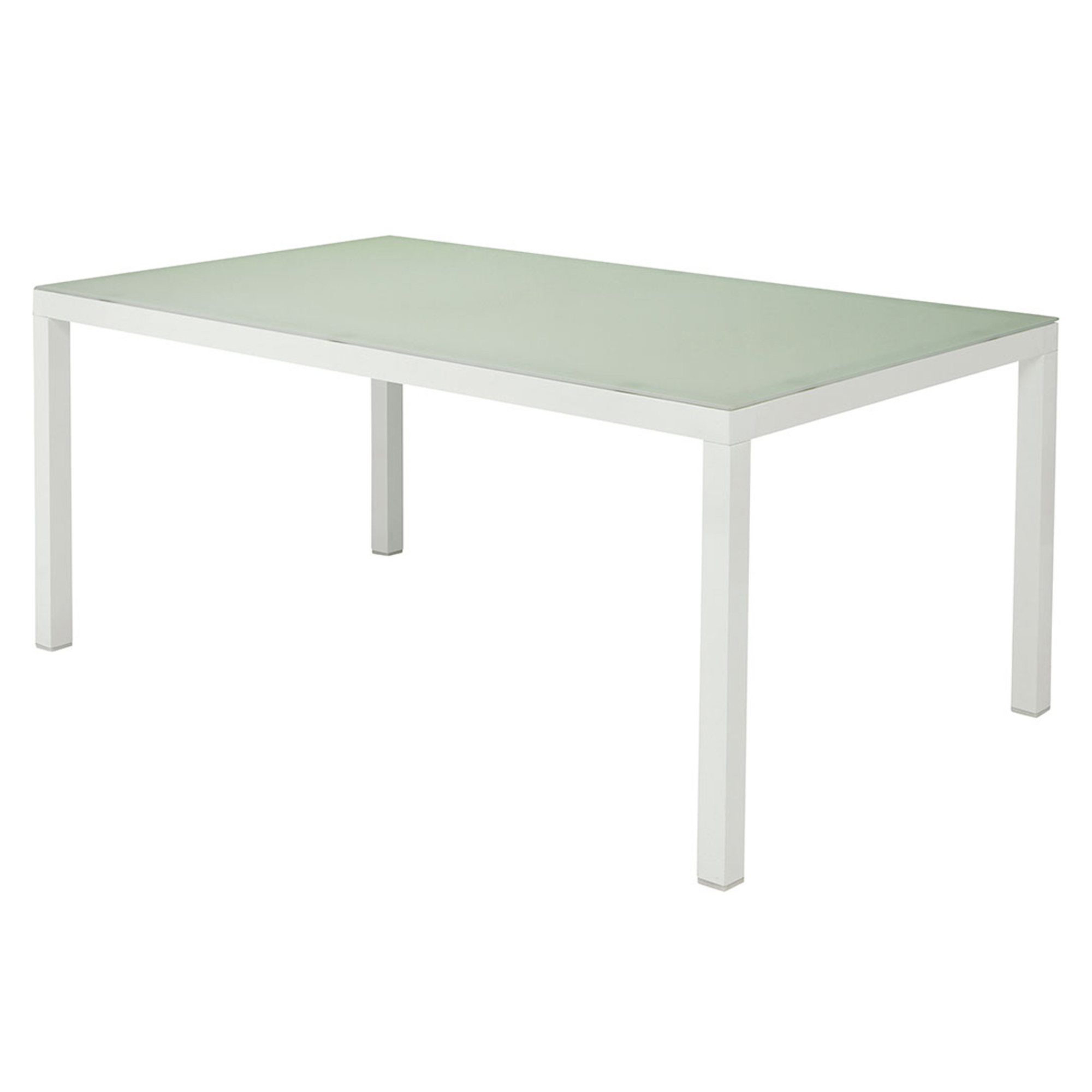 Table verre trempe - Table ronde verre trempe ...