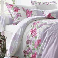 housse de couette imprim e lilas de jardin secret en percale de coton acheter ce produit au. Black Bedroom Furniture Sets. Home Design Ideas