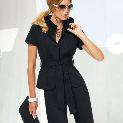 veste manches courtes grande taille femme votre mode du 38 au 58 acheter ce produit au. Black Bedroom Furniture Sets. Home Design Ideas