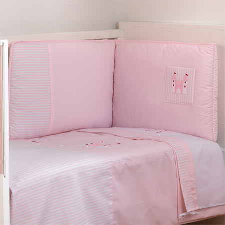 tour de lit collection 61 rose t 70 acheter ce produit au meilleur prix. Black Bedroom Furniture Sets. Home Design Ideas