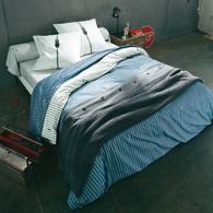 housse de couette pur coton zip diesel acheter ce produit au meilleur prix. Black Bedroom Furniture Sets. Home Design Ideas