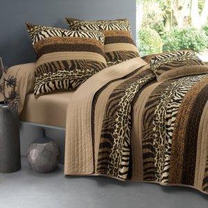 couvre lit imprim jungle acheter ce produit au meilleur prix. Black Bedroom Furniture Sets. Home Design Ideas